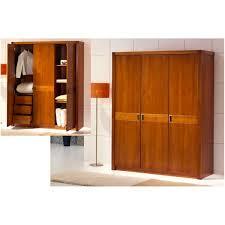 meuble armoire chambre armoire chambre 3 portes merisier meubles elmo