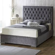 tate dark grey upholstered bed crate and barrel within fabric