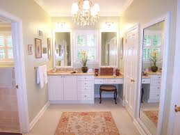 Bathroom Vanity With Makeup Area by Bathroom Renovation And Remodeling Designs Atlanta
