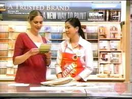 behr paint home depot television commercial 2008 youtube
