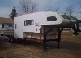 Utility Bed Trailer Slide In Camper On A Utility Bed Pirate4x4 Com 4x4 And Off