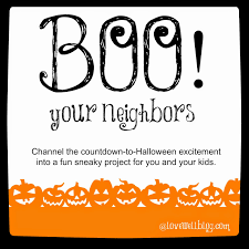 Poem On Halloween Boo Your Neighbors Graphic Jpg