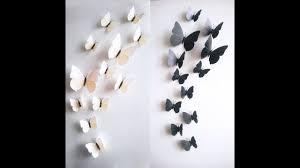 diy butterflies wall decor wall decor idea how to cut paper