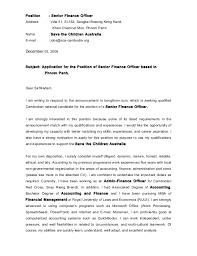 cover letter and cv peou saren