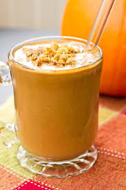 pumpkin gingerbread smoothie oh she glows