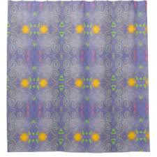 Blue Butterfly Curtains Abstract Butterfly Shower Curtains Zazzle