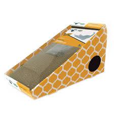 Cat Scratch Lounge Cardboard Cat Scratching Post Alpine Inclined Cat Scratching