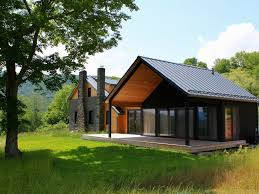 Contemporary Farm House High End Contemporary Farmhouse Best Views Of The Catskills From