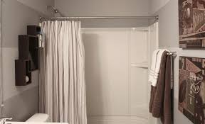 Bathrooms With Shower Curtains Decorated Bathrooms With Shower Curtains Bathroom Decor