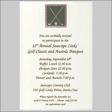 golden golf clubs by faux designs golf tournament invitation