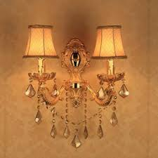 Crystal Candle Sconce 2 Light Crystal Candle Wall Sconces For Foyer Antique