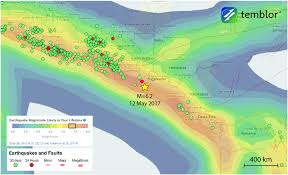 El Salvador On World Map by M U003d6 2 Subduction Zone Earthquake Strikes El Salvador Temblor Net