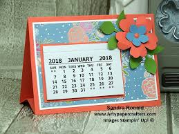 Small Desk Calendars Fab Desk Calendars For Him Arty Paper Crafters