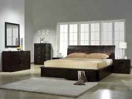 Sandy Beach White Bedroom Furniture 6 Pc King Bedroom Set Espresso Finish W Nailhead Trim Coaster 5