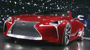 the view for lexus lf lc lexus lf lc concept vehicle official unveiling youtube