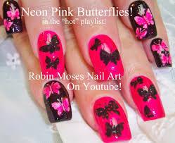 22 outstanding neon pink nail designs u2013 slybury com