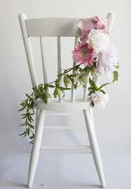 how to make a perfect chair garland rustic wedding chic