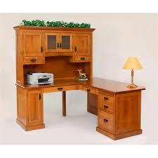 Usa Office Furniture by Homestead Corner Desk 14 Hom202 212 Amish Oak Office Furniture