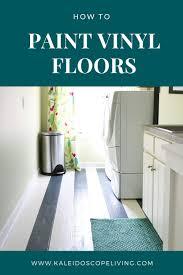 best paint for vinyl kitchen cabinets uk how to paint vinyl floors lasting results designer