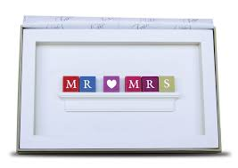 wedding gift personalised personalised mr mrs wedding frame