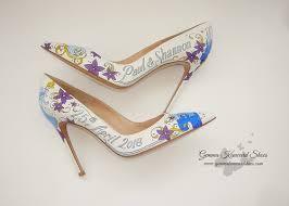 princess wedding shoes heels