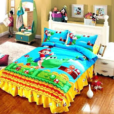 Mario Bedding Set Mario Bedroom Set Bedroom Set Mario Kart Bed Set Biggreen Club