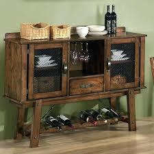 sideboards with wine storage reclaimed wood wine rack sideboard
