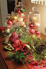 Ideas For Christmas Centerpieces - transform kitchen table christmas centerpieces charming decorating
