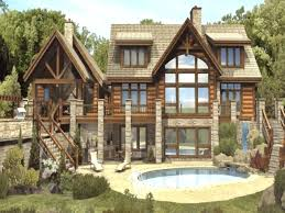 wrap around house plans log cabin house plans one story with photos home floor wrap around