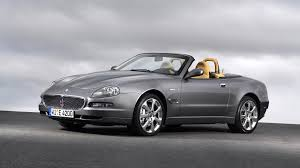 maserati maroon drives this exact car a pearl gray maserati spyder two seater
