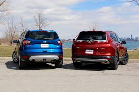 Ford Escape Suv - 2017 honda cr v vs 2017 ford escape autoguide com news