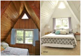 Bedrooms And More by Before And After Upstairs A Frame Master Bedroom A Frame Remodel