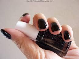 little miss polish essie licorice