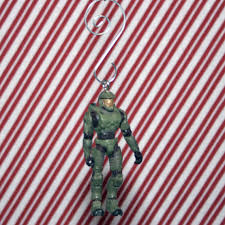halo master chief christmas ornament by regeekery on etsy