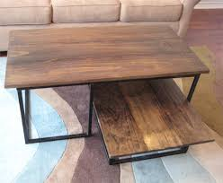Making A Wood Desktop by Home Dzine Home Diy Make A Wooden Coffee Table With Steel Frame Base