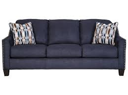 benchcraft creeal heights memory foam sofa sleeper with nailhead