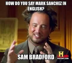 Mark Sanchez Memes - sam bradford memes 100 images nfl memes on twitter sam bradford