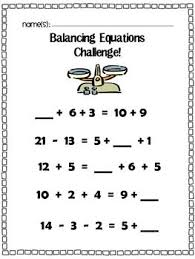 addition addition balancing worksheets free math worksheets