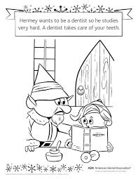 dental coloring pages 2 coloring page
