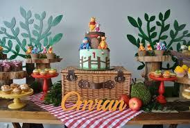 kara u0027s party ideas rustic winnie the pooh first birthday party