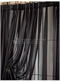 Black Sheer Curtains 25 Black Living Room Curtains Black Curtains Living Room