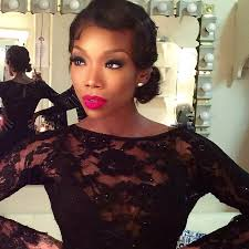 show me a picture of brandys bob hair style in the game we love it brandy tries out pixie haircut trend the style news