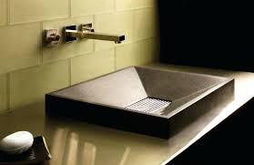 glass bathroom sinkgreen glass vessel bathroom vanity sink glass