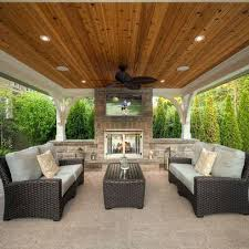 Outside Patio Covers by Patio Covers Las Vegas Alumawood Covered Patio By Louise More