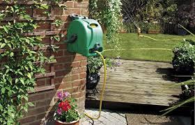 best wall mounted garden hose reel garden tools center