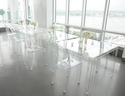 chair acrylic furnitur clear dining table and chairs clear plastic full size of