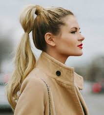 hairstyles for back to school for long hair twisted classic ponytail is one of easy school hairstyles for long