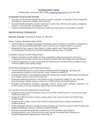 environmental engineer sample resume haadyaooverbayresort com