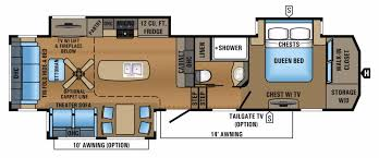 Carriage Rv Floor Plans by New Or Used Fifth Wheel Campers For Sale Rvs Near Oklahoma City