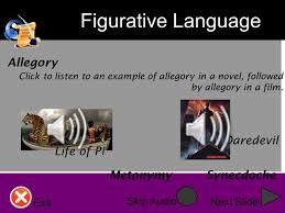 figurative language this presentation is going to review several